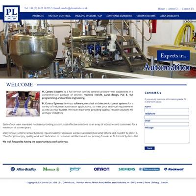Web design portfolio automation machines